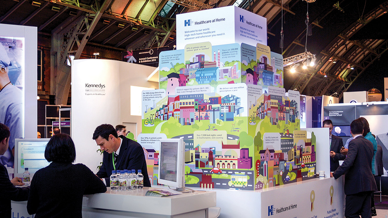 Exhibition Stand Advice : All about exhibitions stands design and lighting