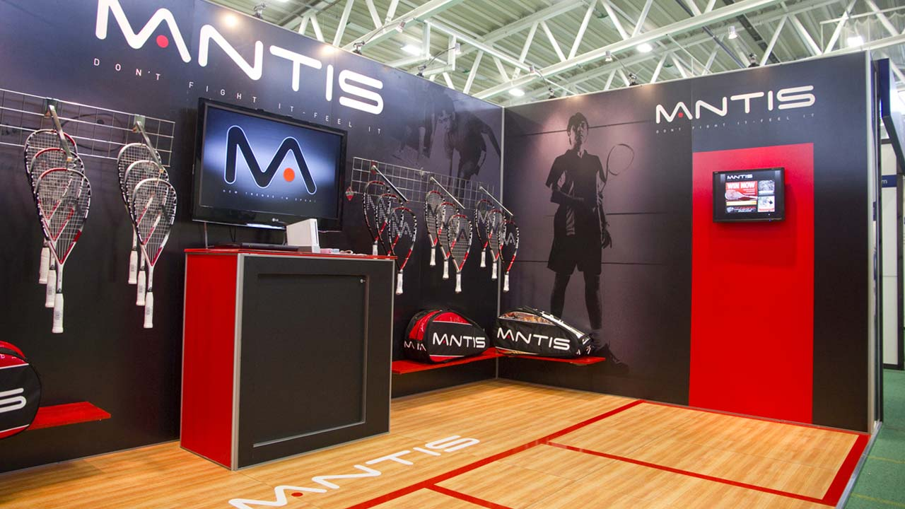 Exhibition Stand Builders Nottingham : Exhibitions spinning clock
