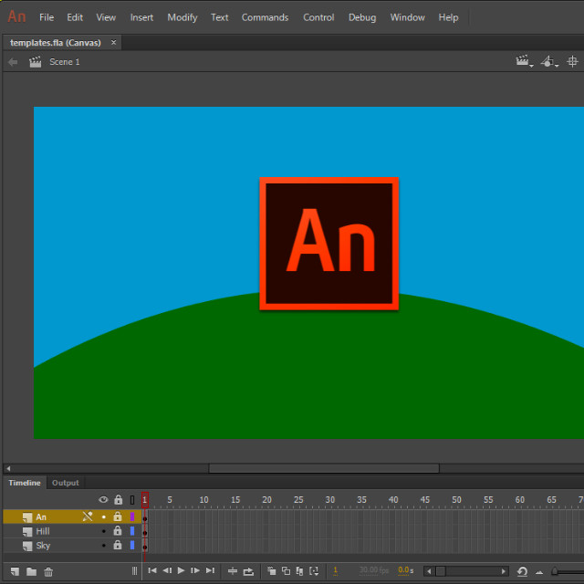 Where to Start In Animation? | Spinning Clock
